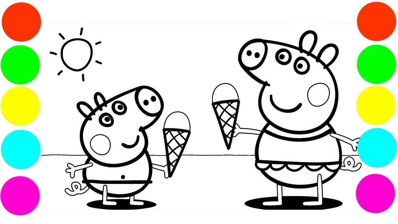 Peppa Pig Coloring Sheets Best Of Peppa Pig Coloring Pages Ice