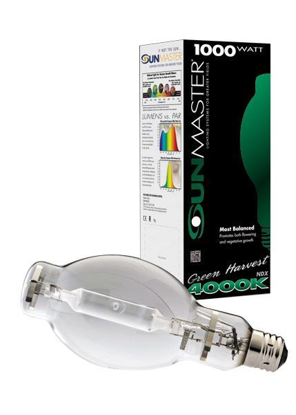 Sunmaster Green Harvest Pulse Start Metal Halide Lamp, 1000W
