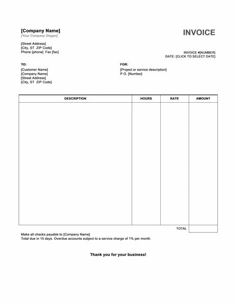 Invoice Template To Download Free Invoice Template Download  Template  Pinterest  Bill .