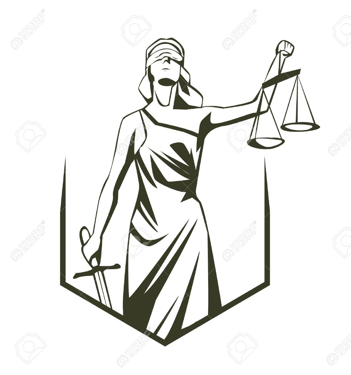 Themis Royalty Free Cliparts Vectors And Stock Illustration Image 17444878 Lady Justice Justice Tattoo Justice Symbol