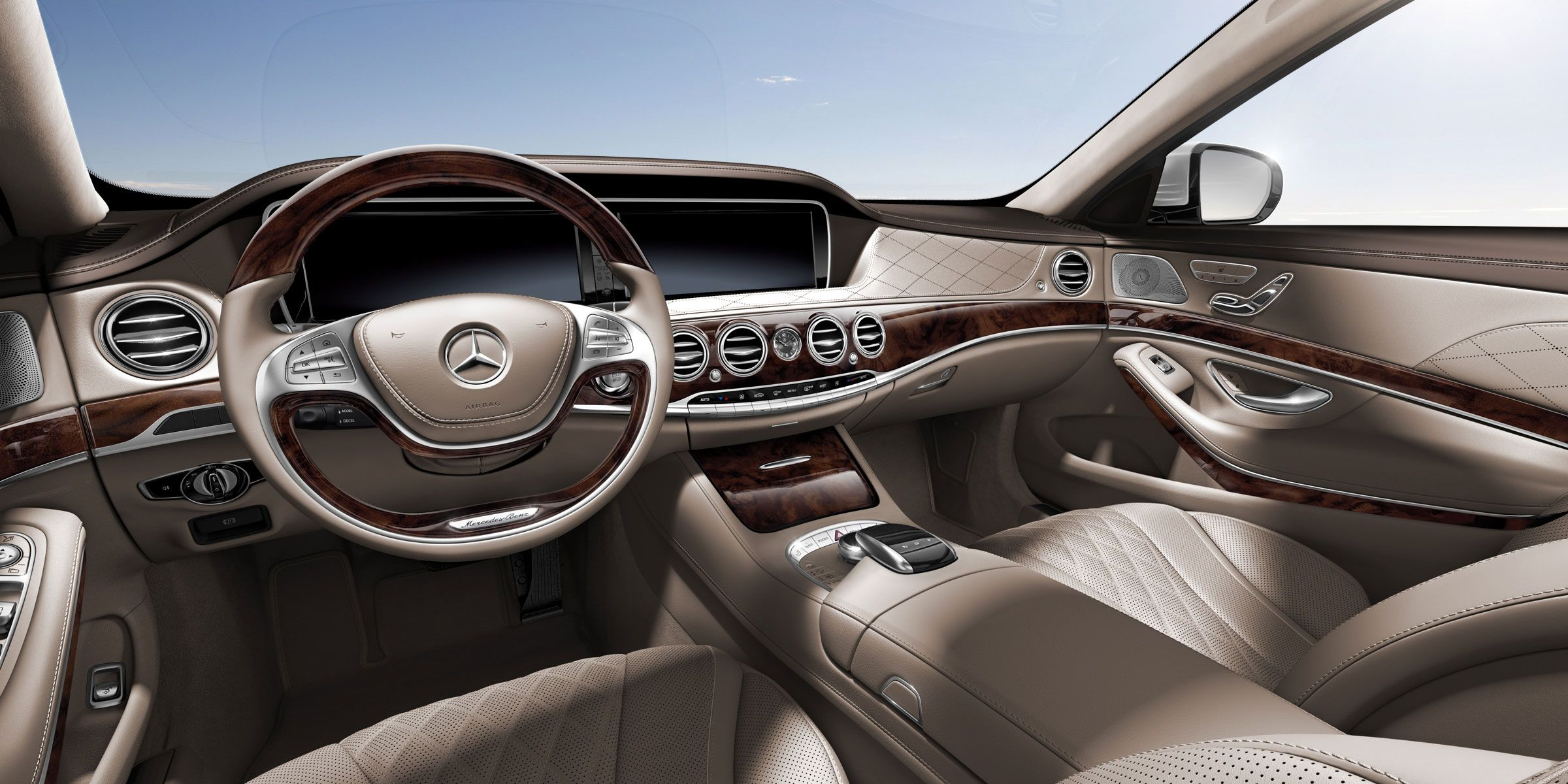 My Mercedes Benz S550 2015 Diamond Silver Luxury Sedan Custom