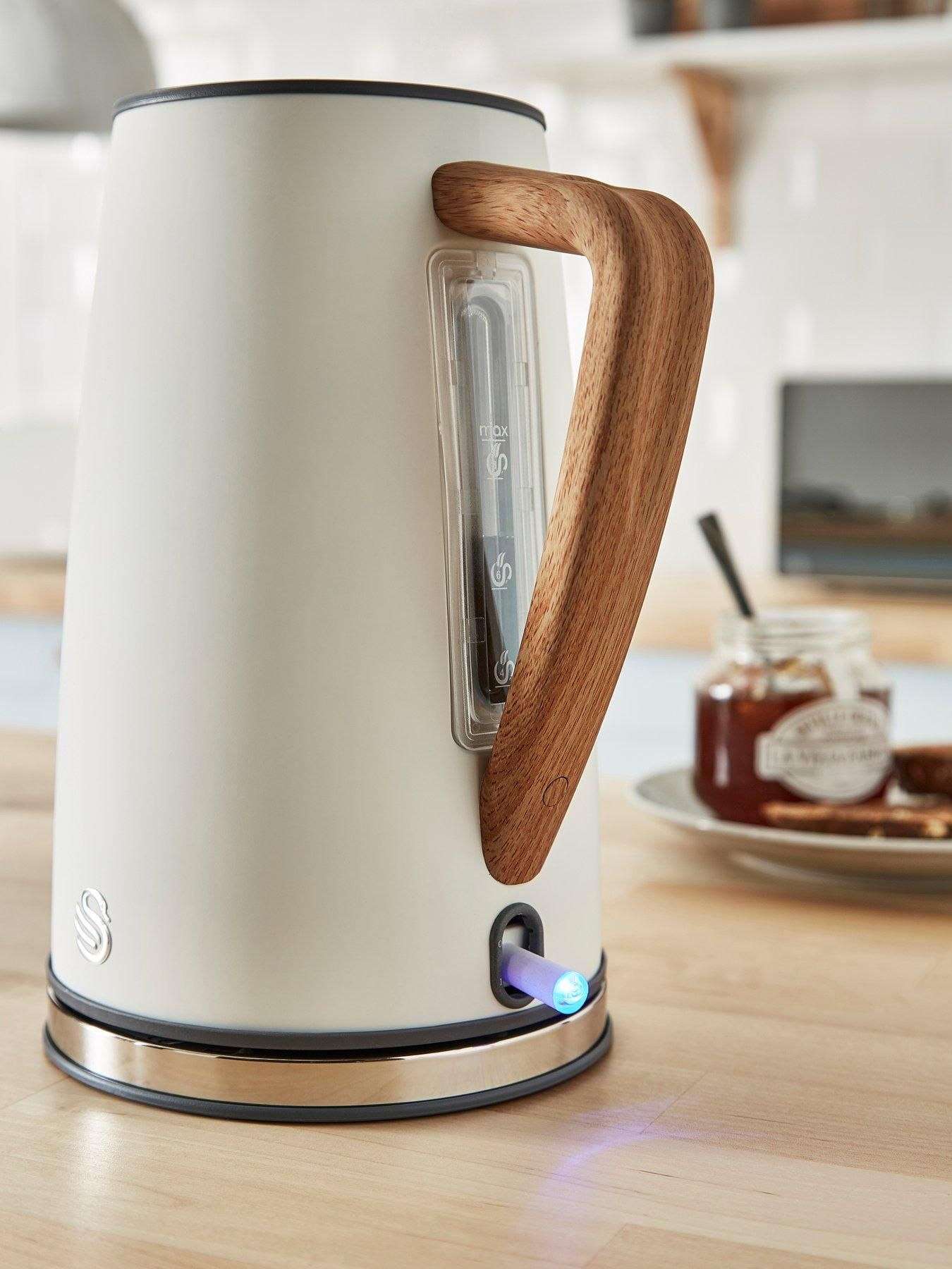 Swan 1.7L Nordic Style Kettle White