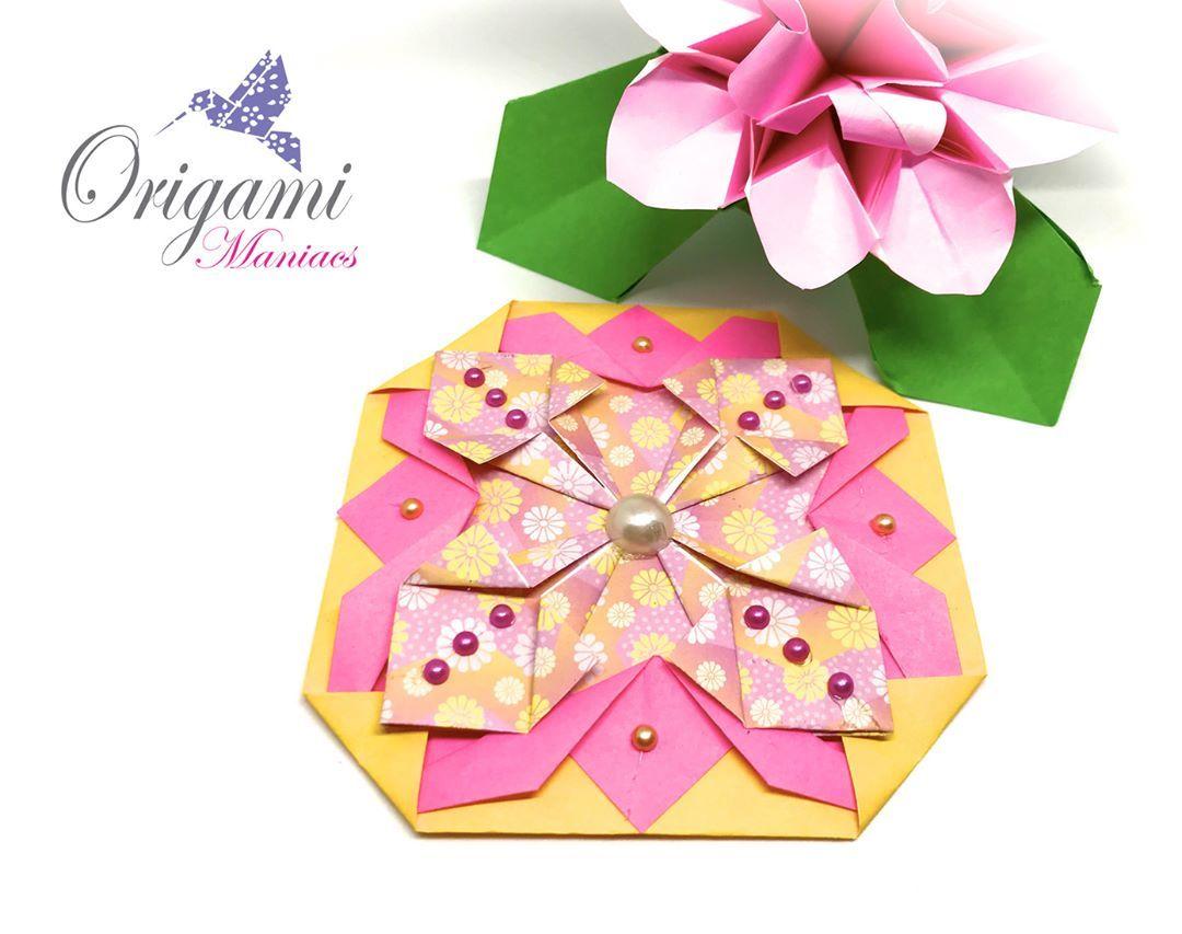 Origami Mat Unit 2 And 3 Mantelito De Origami 2 Y 3 Tutorial Https