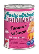 Party Animal Grain Free Jammin' Salmon Canned Dog Food 13oz
