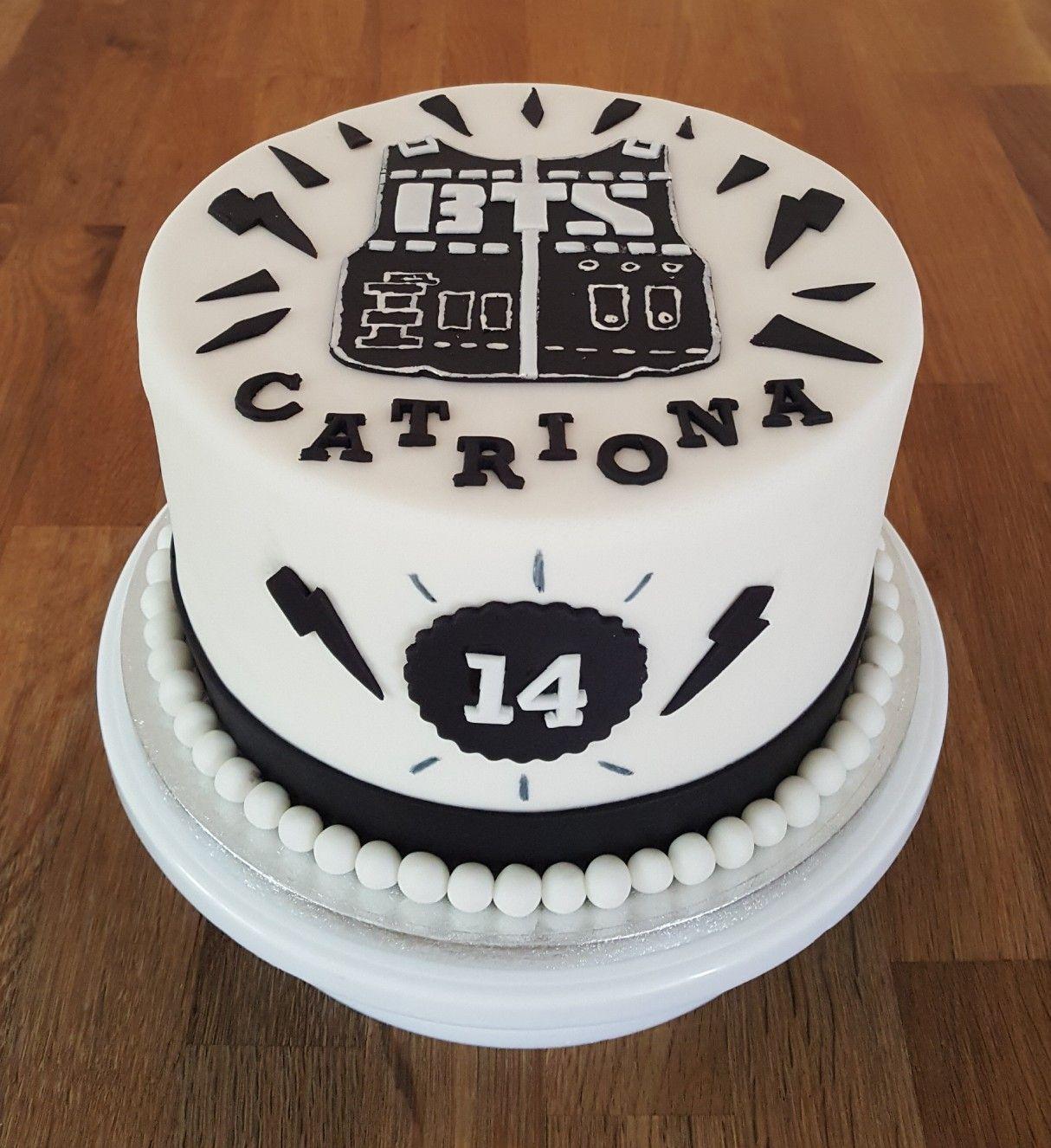 Kpop Bts Themed Birthday Cake Bts Cake New Cake Bts Birthdays