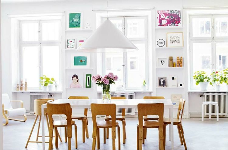 Kreative Wandgestaltung Bilder Esszimmer Deko Ideen Bilder Regale