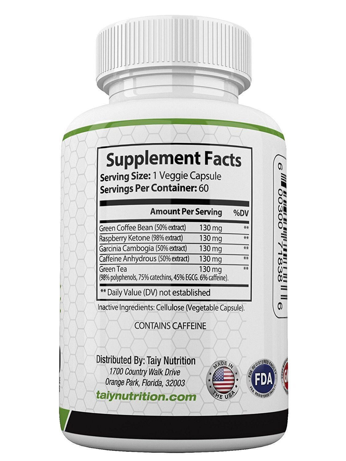 Taiy Nutrition The Big 3 Extra Strength Appetite