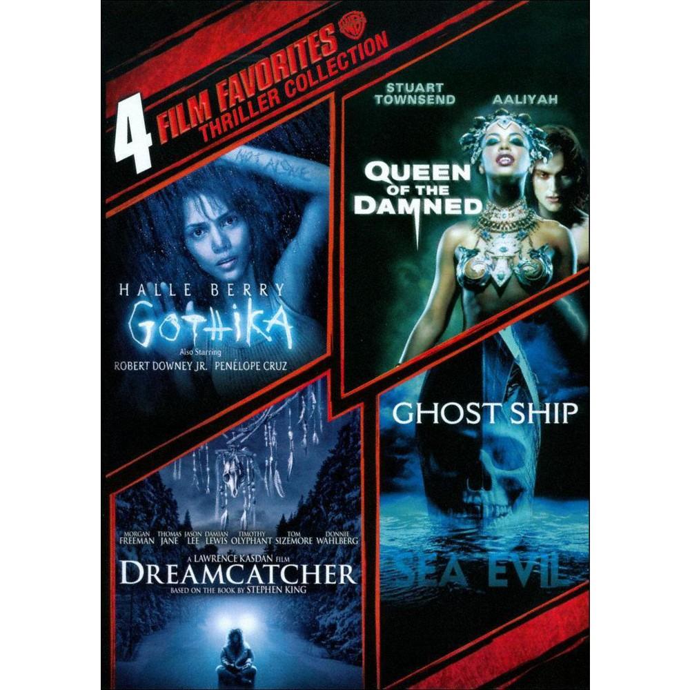 Thriller Collection: 4 Film Favorites (2 Discs) (dvd_video)
