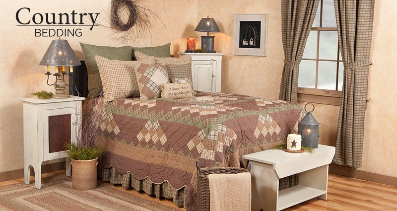 country sampler decorating ideas - Google Search | bedroom ideas ...