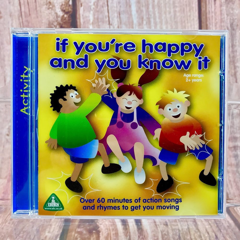 If You Re Hy And Know It Cd Nursery Rhymes X 30 60 Mins