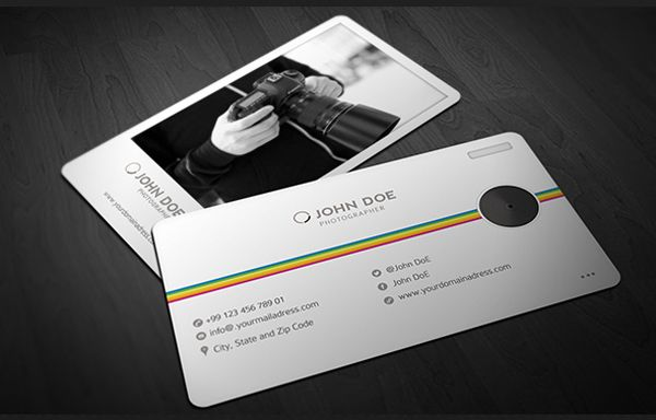 40 Creative Photography Business Card Designs For Inspiration Business Card Design Photography Photography Business Cards Business Card Inspiration