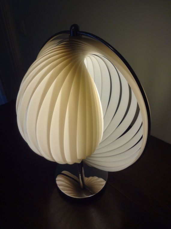 Verner Panton Moon Lamp Table Lamp 1960s Perfect Condition Etsy Luz