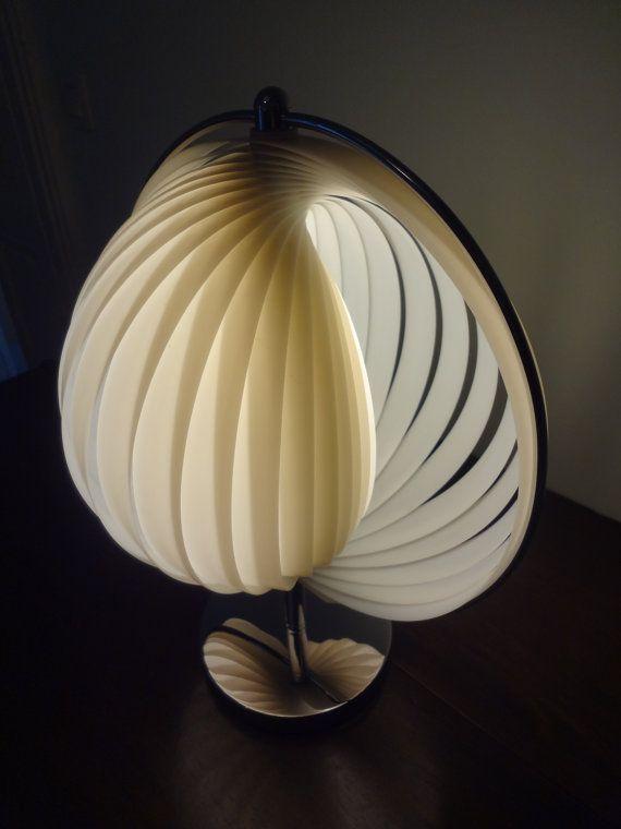 Elegant Verner Panton MOON LAMP Table Lamp 1960s