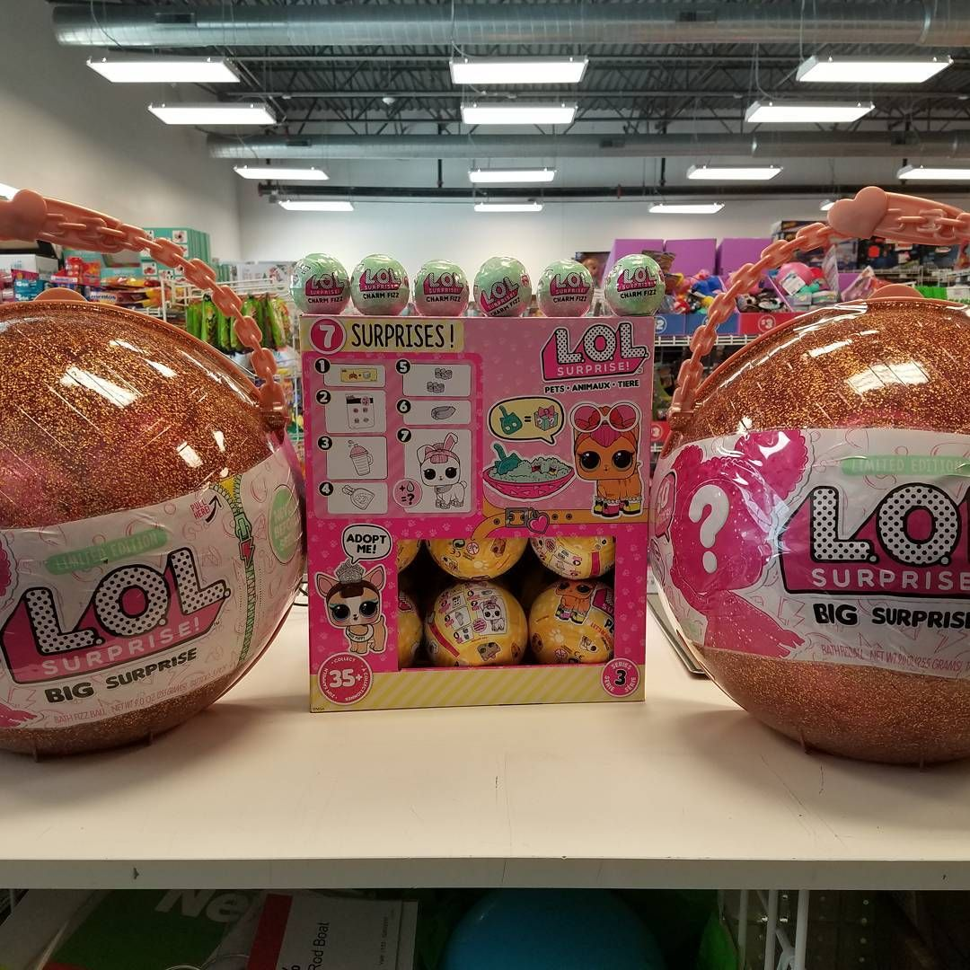 We Have A Limited Supply Of Big Lol Surprise Lol Pets Lol Charm Fizz Ball Plus Revive 25 Off If You Open A Toys R Us Credit Card Subj Cool