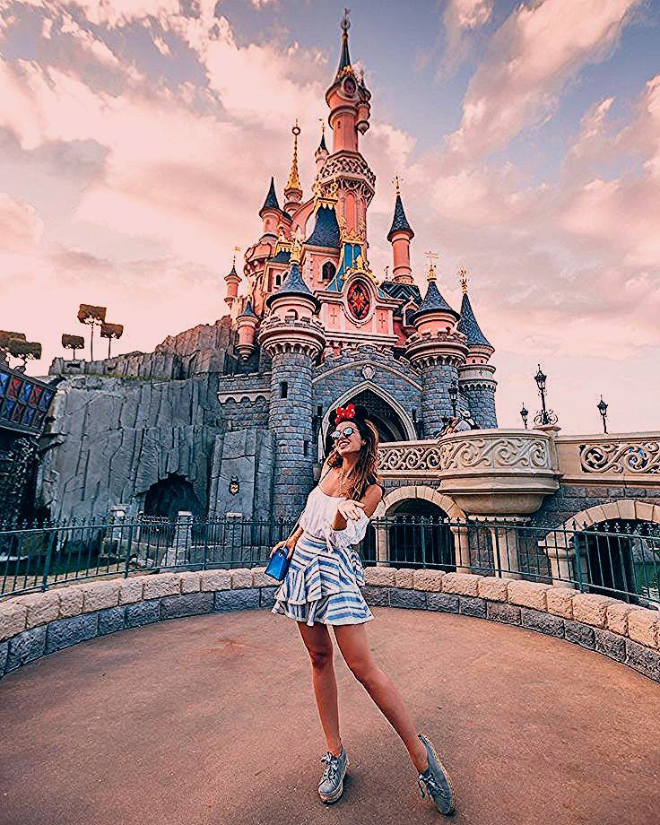 Photo of In Disneyland erwartet Sie das ganze Jahr über Magie. Egal, wann ich hierher komme, …