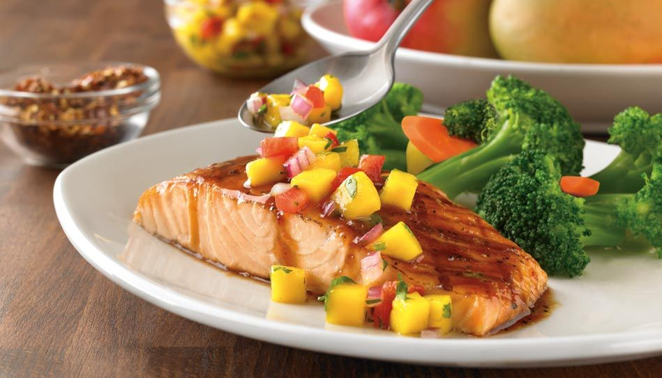 Grab Dinner In A Pinch Loving The Outback Steakhouse Mobile App Healthy Nutrition Foods Firecracker Salmon Grilling Menu