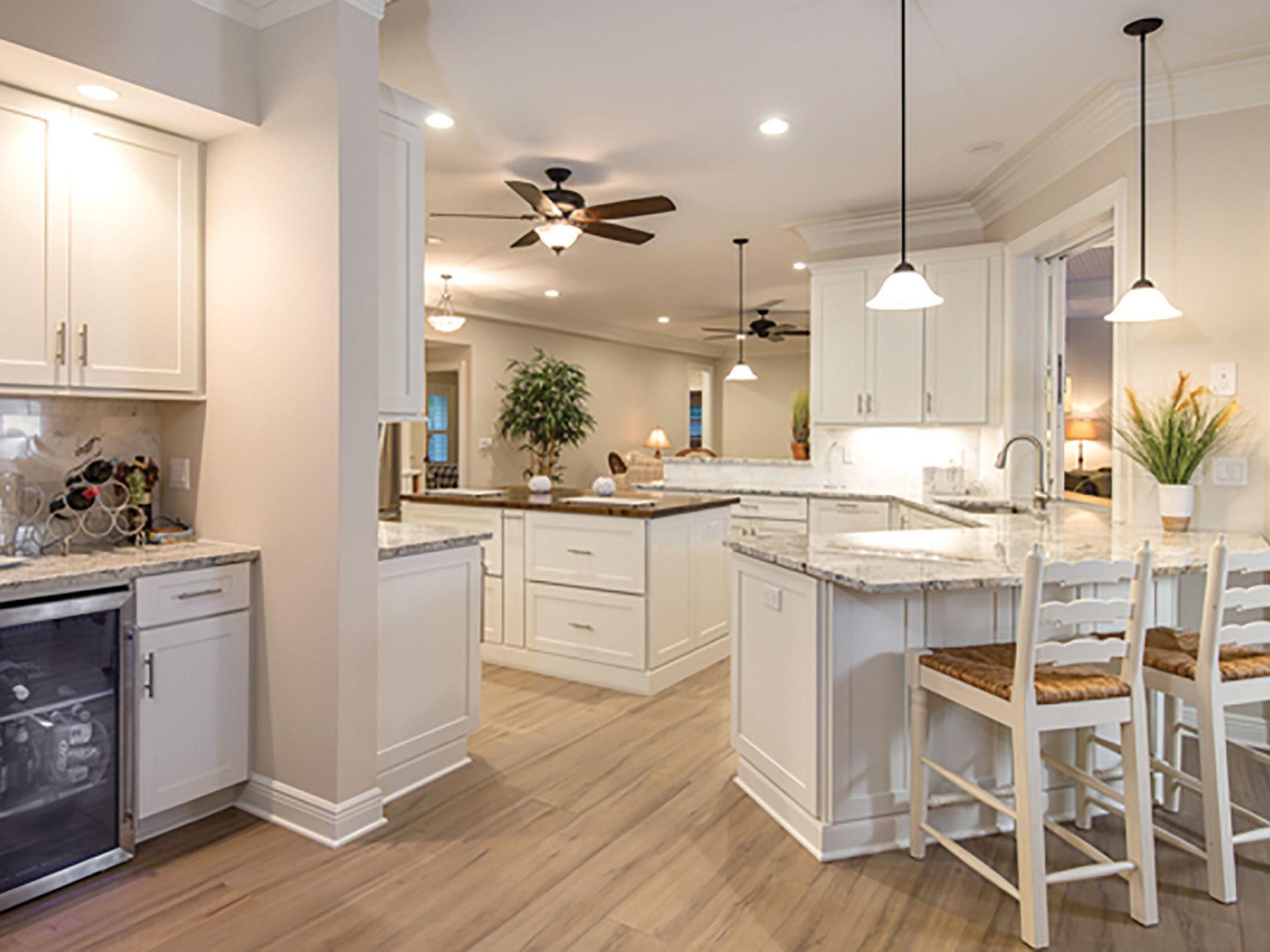 Shaker White Cabinets - New England Kitchen Update ...