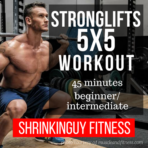 The 5x5 Stronglifts routine comes from Mehdi at the Stronglifts.com web site. It's a deceptively ...