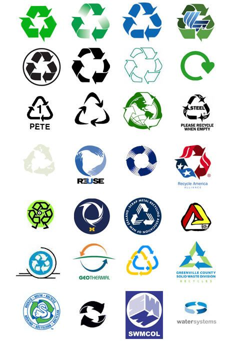 photograph regarding Printable Recycle Symbol named Free of charge Recycle Clip Artwork Printable recycle indicators recycle