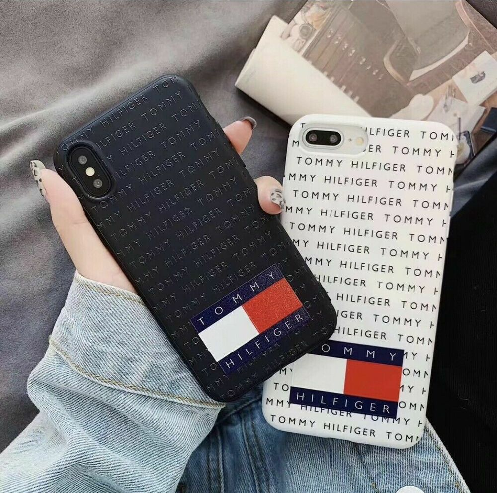 Tommy Hilfiger Phone Soft Case Cover For Apple iPhone X XS MAX XR ...
