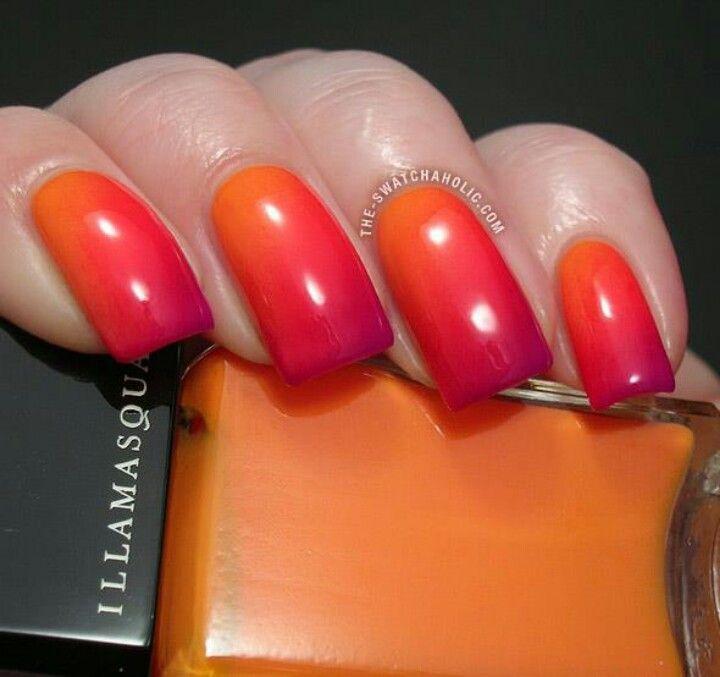 Tri color nails pretty | Nails | Pinterest | Color nails