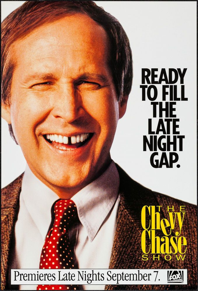 The Chevy Chase Show 1993 One Sheet 27 - chase fax cover sheet