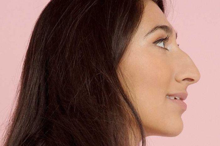 Картинки женщин с длинным носом