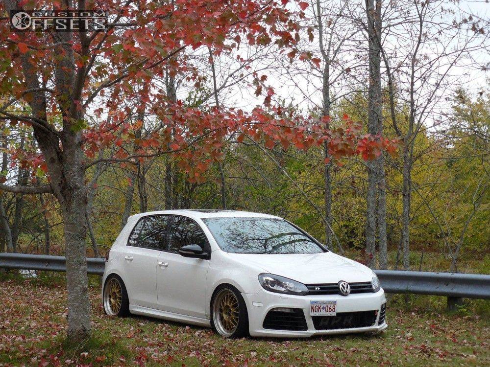 2012 Volkswagen Golf R Alzor 881 Fk Streetline Coilovers Vw Golf