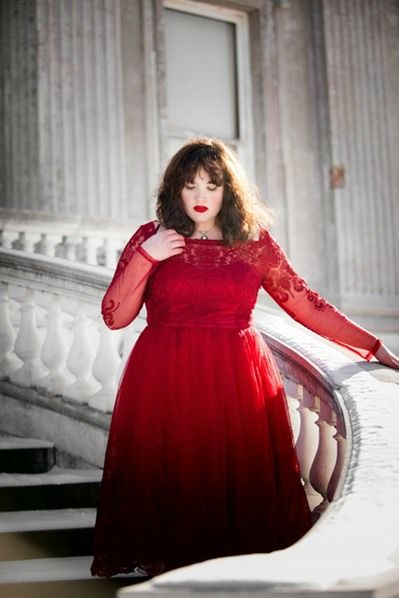 415f23bb0a2 Plus Size V-Day Dresses You ll Actually Wanna Wear