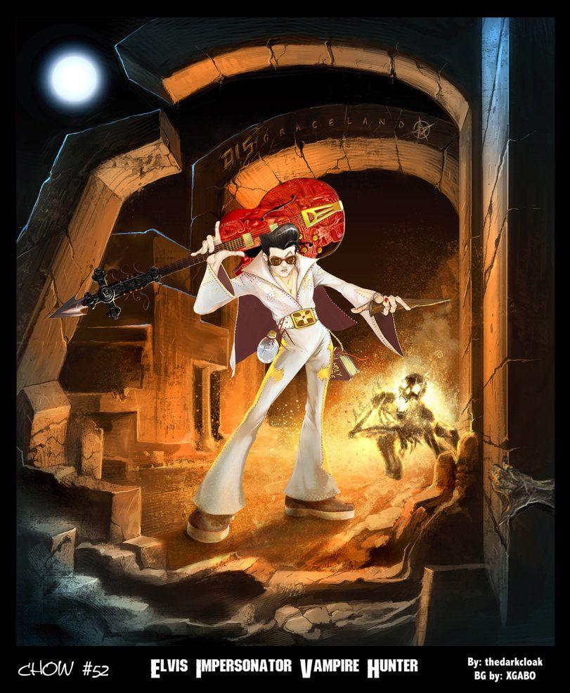 Vampire Hunter E by thedarkcloak on deviantART Vampire