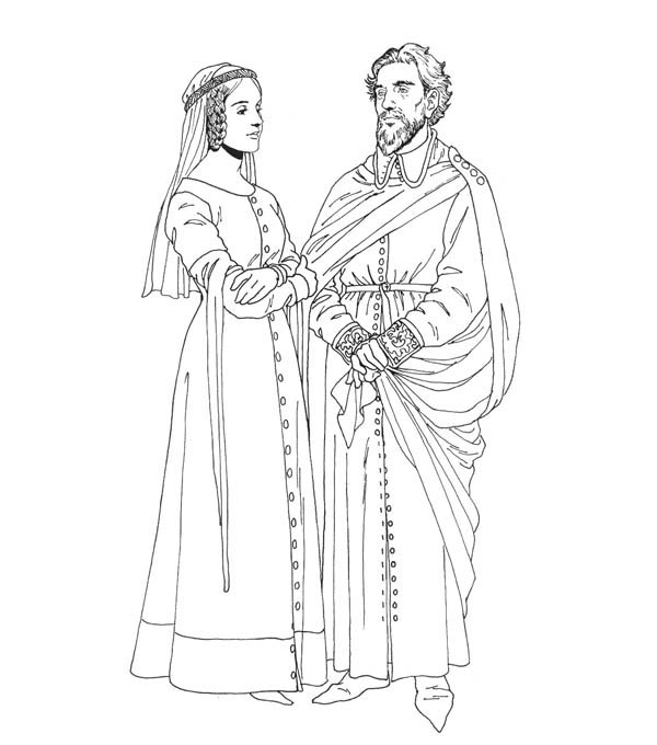 Medieval Coloring Pages For Kids Coloring Pages Medieval Medieval Art
