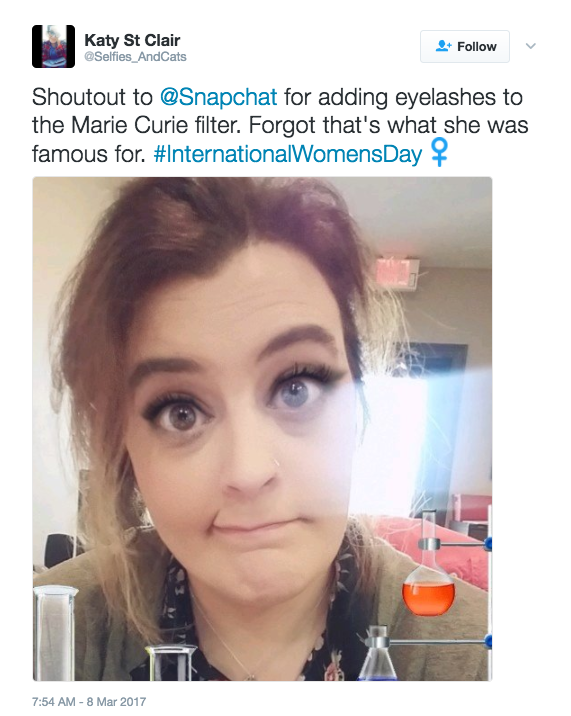 Women Are Rolling Their Eyes At This Snapchat Filter For