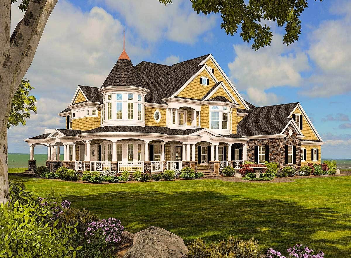 Magnificent Shingle Style Dream Home 23500JD