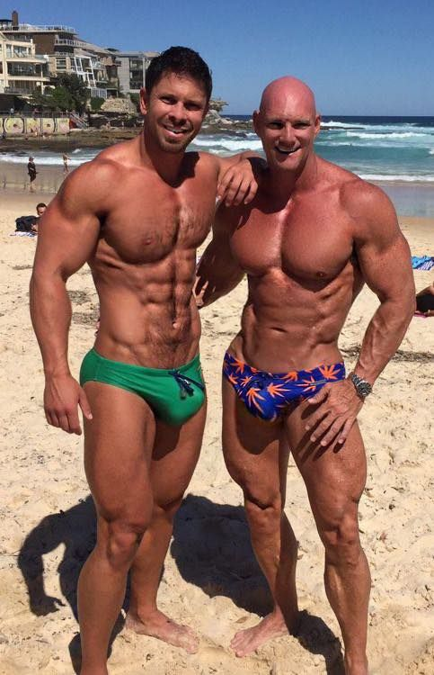 hot naked muscle beach