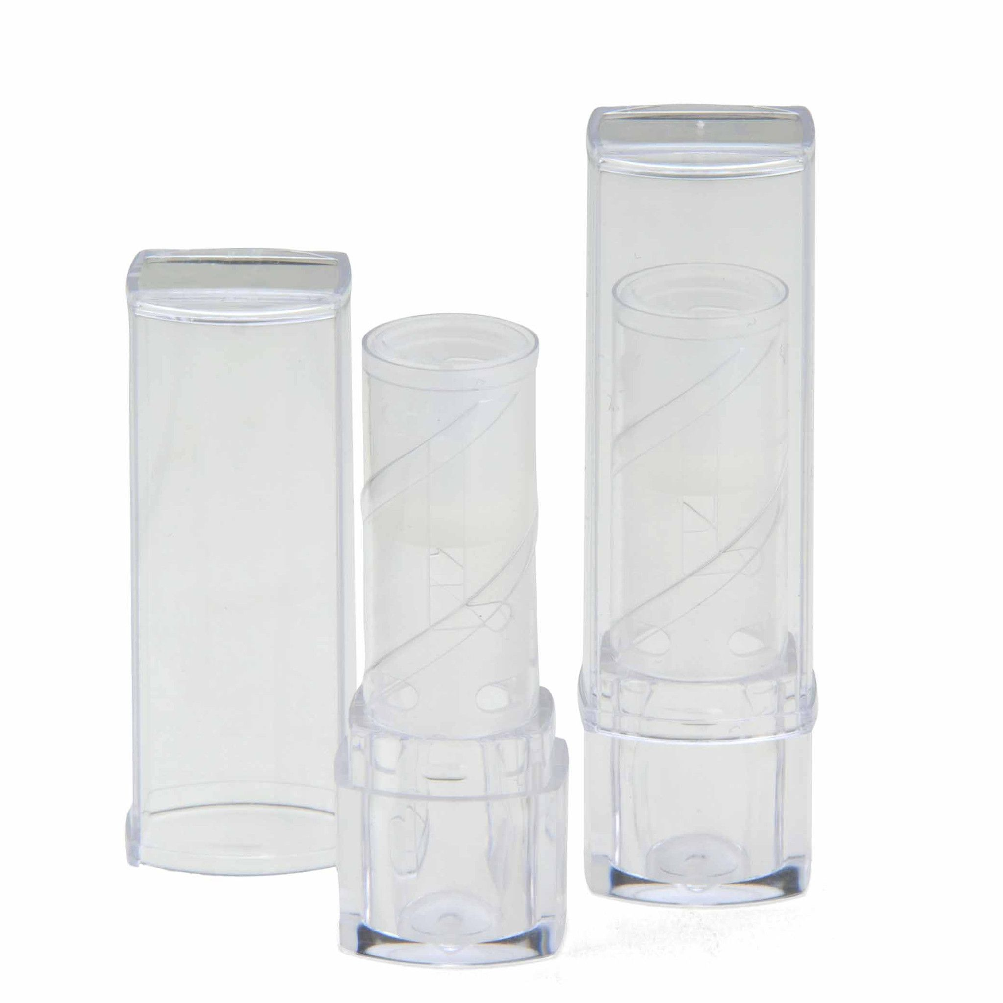 Clear Lipstick Case - 10 tubes