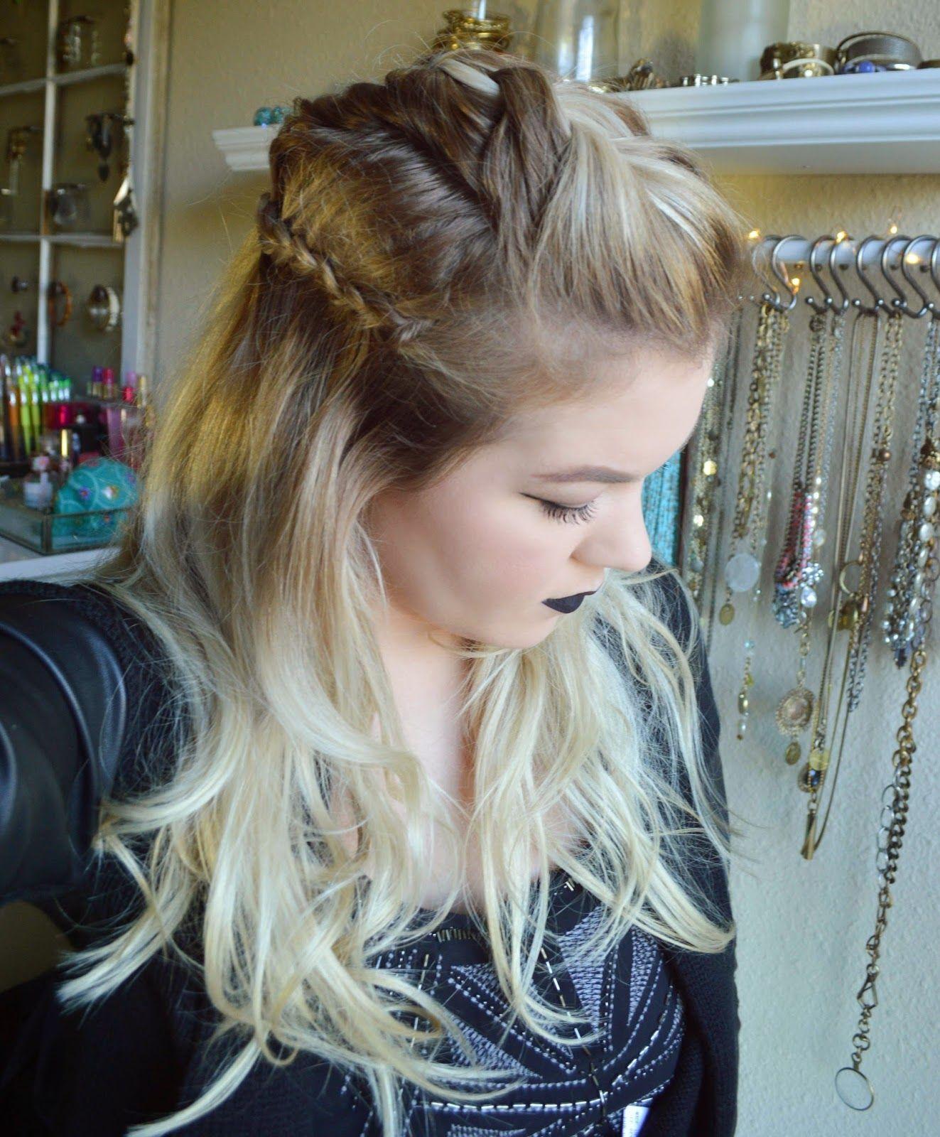 "alexsis mae : warrior princess braid | ""anya"" from the 100 | lovely"