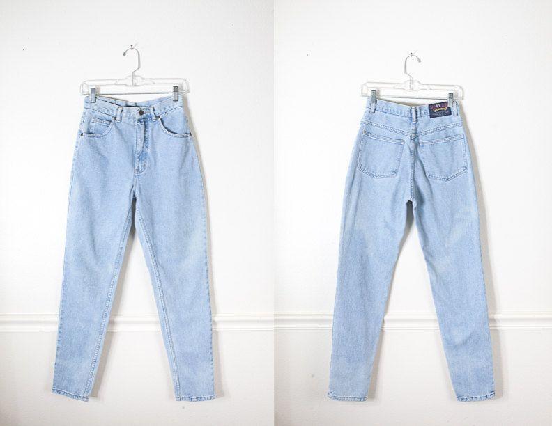 Vintage 80s Levi's 565 Jeans, High Waist Jeans, Levi's Jeans, Wide Leg Jeans, Relaxed Fit Boyfriend Jeans, 80s Jeans, 90s Jeans, Soft Grunge
