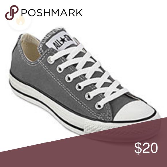 9414681e5c3d Dark gray converse Good used condition converse sneakers Converse Shoes  Sneakers