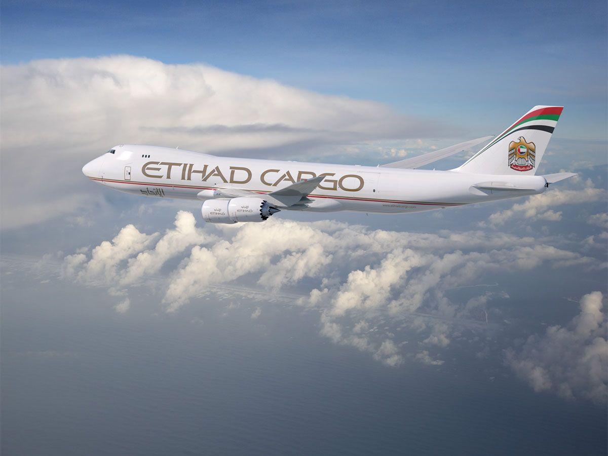 Etihad Cargo B747-8F freighter