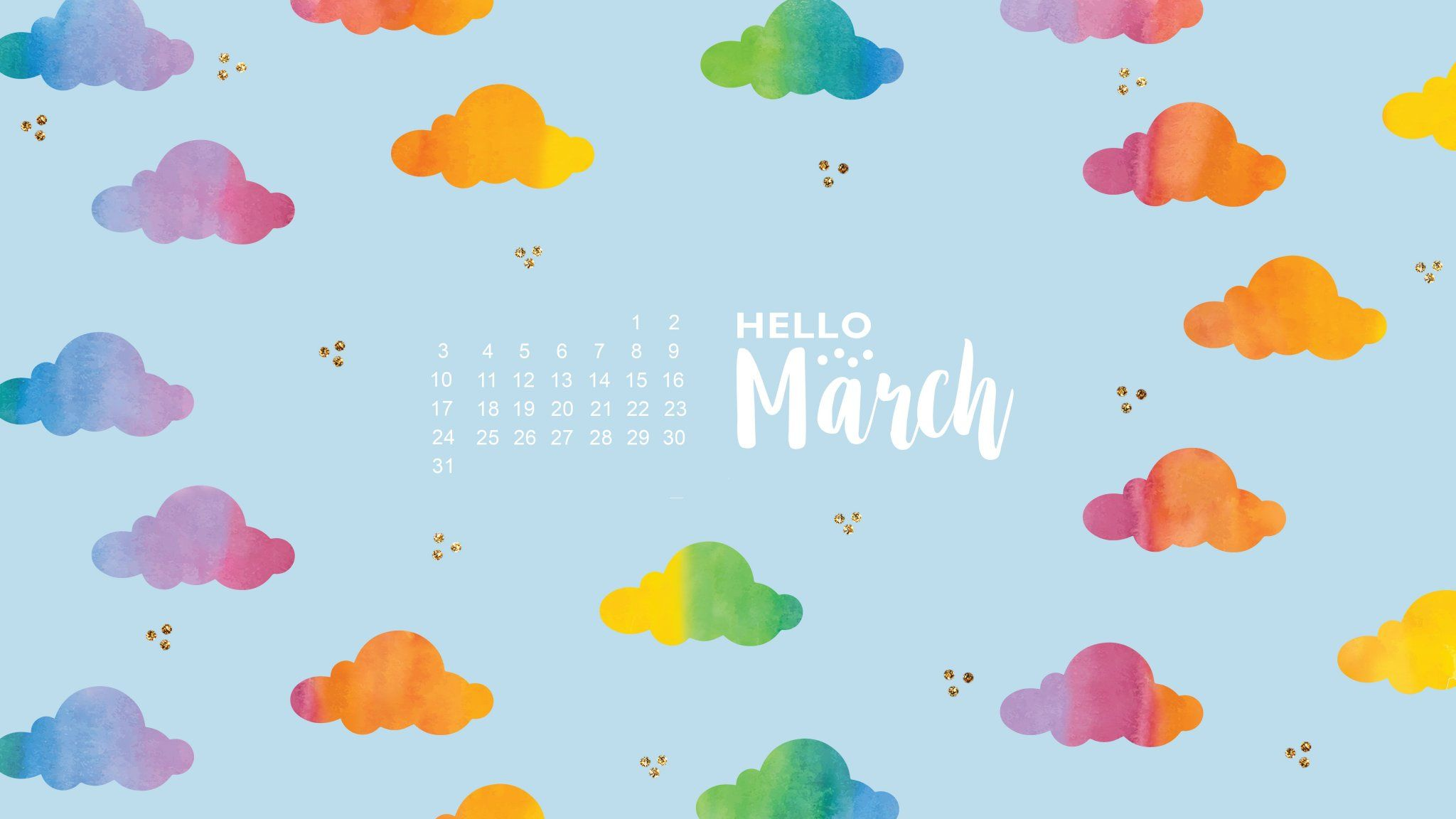March 2019 Calendar Desktop Wallpapers Calendar