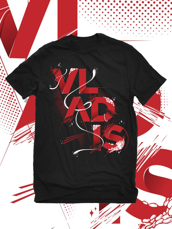 vladis merch by SkNk DSGN, via Behance