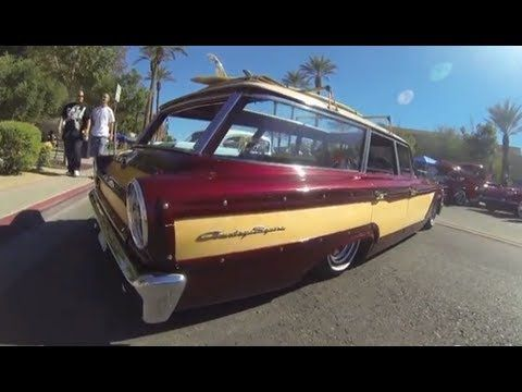1963 Ford Galaxie Country Squire Wagon Youtube Ford Galaxie Galaxie Ford