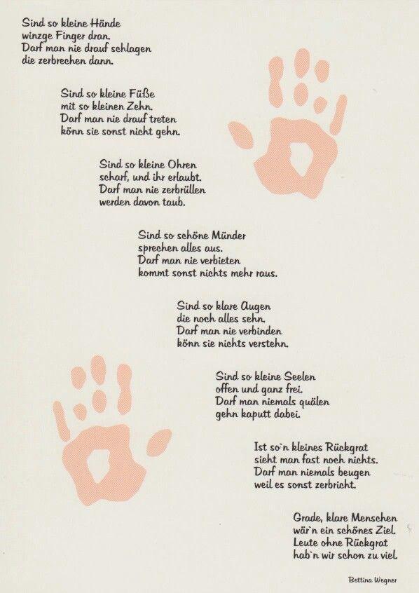 Sind so kleine Hände | Gedichte und sprüche, Sprüche zur