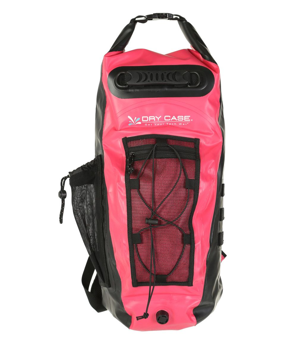 f5710079b4 Look what I found on  zulily! Pink Basin Waterproof Backpack by ...