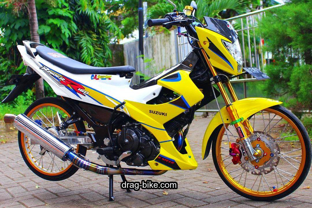 Gambar Modifikasi Satria Fu Thailand 50 Foto Gambar Modifikasi Satria Fu Thailook Terbaik Terkeren Air Brush Kontes Drag Bike Com Dengan Gambar Gambar Sepeda Motor Air
