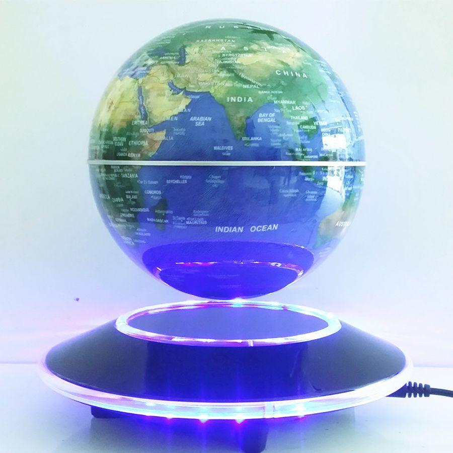 6 inch electronic magnetic levitation floating globe world map with cheap map software buy quality globe bar directly from china map heading suppliers 6 inch electronic magnetic levitation floating globe world map with led gumiabroncs Images
