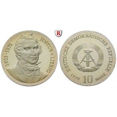 DDR, 10 Mark 1978, von Liebig, PP, J. 1567 10 Mark 1978