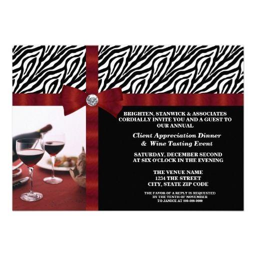 corporate event client appreciation invitation invitation
