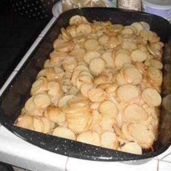 Grilled Garlic Potatoes