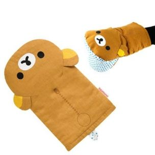 Cute Oven Mitt Rilakkuma Kitchen Gloves Oven Mitts Anime Decor